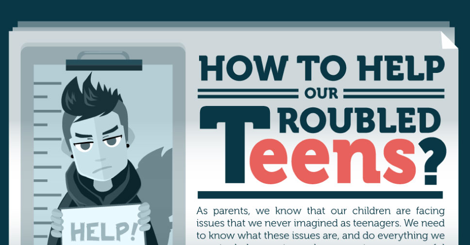 How to Help Our Troubled Teens – Infographic